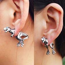 Cool Punk Rock 3D Temptation Dinosaur Dragon Ear Cuff Wrap Clip Earrings 1pcs