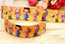 1 yard (90cm) SNOOPY and Friends 22mm Ribbon
