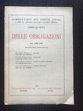 DELLE OBBLIGAZIONI Art. 1960-1991 - AA.vv. - Commentario Codice Civile