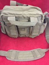 "CONDOR Tactical Response Bag Tan w/Shoulder Strap 14x8x10"" Good Condition"