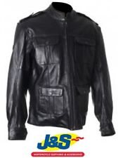 Frank Thomas FTL311 Richmond Leather Motorcycle Jacket Motorbike 40 Black J&S