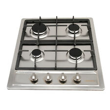 "23.6""/60cm Gas Cooktop Pulse Ignition 4 Burners 3300W 11259 Lpg Kitchen Gas Hob"