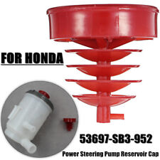 Power Steering Reservoir Cap Fits For Honda Acura 53697-SB3-952 Red