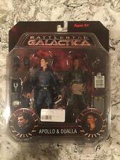 Diamond Select Toys Battlestar Galactica Apollo and Dualla MOC
