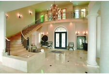 """Natural Polished White Marble Floor & Wall Tiles - 5 Pcs Per Case, 12"""" x 12"""" Ea."""