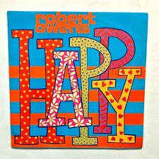 """ROBERT OWENS – Happy / Far Away 12"""" Vinyl 1990 David Morales, Frankie Knuckles"""