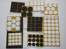 Filzgleiter selbstklebend, eckig o. rund, Möbelgleiter-Stuhlgleiter-Gleiter-Filz