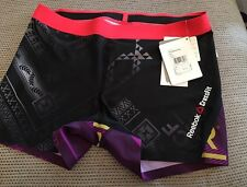 BNWT Ladies Reebok CrossFit Compress Bootie Mix Tights/shorts Size Extra Large
