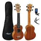 Aiersi full pack 21 inch traval guitar ukelele mahogany Soprano gecko ukulele