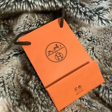 100% Authentic Hermes  Small Paper Carrier Gift Bag 15*10*5cm