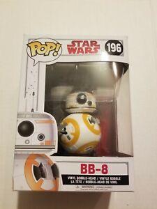 Funko POP! - Star Wars #196 - BB-8 - Sealed - Light Wear