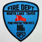 North Lake Tahoe Fire Department Protection District Nevada NV Patch (F6)