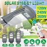 120/240/360W LED Lampione Stradale Faro Led Pannello Solare Telecomando Crepusco