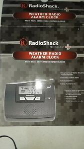 Radio Shack 1200093 Weather Radio Alert Alarm Clock With AC Adapter