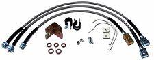 Jeep Cherokee XJ ZJ Wrangler YJ TJ Stainless Steel Extended Brake Line Kit