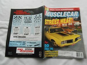 MUSCLE CAR REVIEW Magazine-OCTOBER,1990