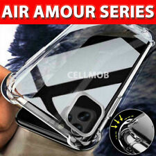 CLEAR SHOCKPROOF Silicone ARMOUR CASE For iPHONE 12,Mini,Pro Max 11 8 Soft Cover