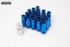 20 12X1.5 Aodhan XT51 Lug Nuts Blue Fit Ace Enkei Miro Mrr Vossen Work