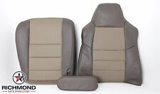 03-04 Ford Excursion Driver Side Bottom, Lean Back & Armrest Leather Seat Covers
