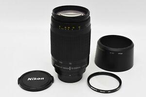 Nikon Nikkor AF 70-300/4.5-5.6 G Camera Lens + UV Filter