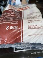 SEARS Kenmore Upright Vac Bags 20 50378 Vacuum Cleaner Type A Hoover Singer OS