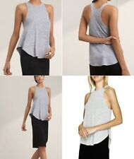 NWOT Aritzia Wilfred Free BURNETTE TANK Top in Heather Blue Size L / Large