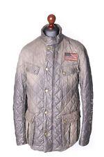 Men's BARBOUR INTERNATIONAL x STEVE MCQUEEN Mullholland Distressed Jacket Sz XL