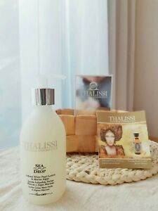 spain royalty skin care brand thalissi white pearl lotion and marine algae