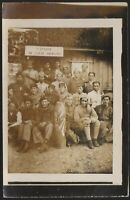 FRENCH AFRICAN AND INDOCHINA SOLDIERS MEDAL RECIPIENT WW1 WAR PHOTO POSTCARD