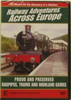 RAILWAY ADVENTURES ACROSS EUROPE PROUD AND PRESERVED BAGPIPES TRAINS
