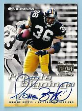 JEROME BETTIS 1999 DONRUSS PRIVATE SIGNINGS SIGNATURE AUTOGRAPH AUTO