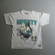 Vintage Mighty Ducks Disney Fanamation Graphic Print Shirt vtg Tee L