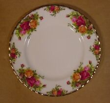 """8"""" Lunch Plates Royal Albert Old Country Roses Made in England"""