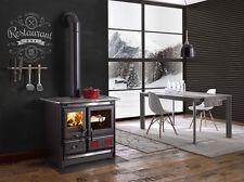 "Wood Burning Cook Stove La Nordica ""Rosa L"" Cooking Range & Baking Oven"