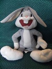 """Boots Looney Tunes Bugs Bunny  Plush Soft Toy 12"""" approx preloved"""