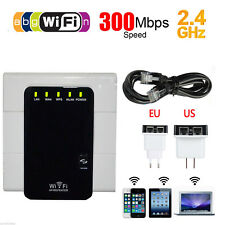 300Mbps Wireless WiFi Repeater AP Router Signal Range Extender Booster T7