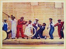 AFRICAN AMERICAN-LOW DOWN JAZZ-JAZZ - FINE ART PRINT-POSTER-20''X24''-BY MYRICK'