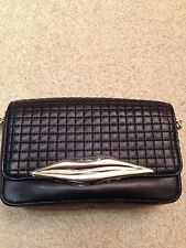 DVF Black Leather Bag - ***Gorgeous Item***