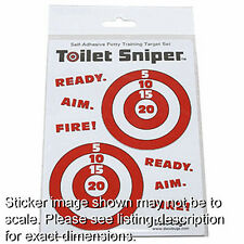 Toilet Sniper Potty Training Targets Aid AS SEEN ON TV!