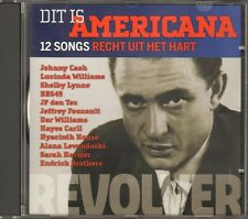 AMERICANA Revolver CD 12 t  JOHNNY CASH Lucinda Williams BR549  Jeffrey Foucault