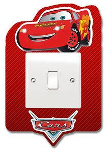 Cars Lightning McQueen Light Switch Vinyl Sticker Surround