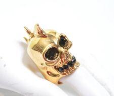 Alexander MCQUEEN SHARK SKULL RING IT 11 US 5.75 UK L 1/2 Grande Regalo Nuova Con Etichetta