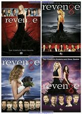 Revenge - The Complete DVD Series Seasons 1 2 3 and 4 - Brand New Sealed Set 1-4