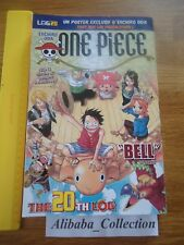ONE PIECE LOG 20 grand format Eiichiro Oda Collection Hachette MANGA VF