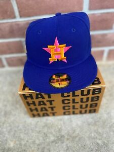HatClub Houston Astros Interstellar Jelly Patch Hat | Size 7 3/4 | Ships FAST!