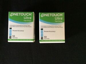 R100 ONE TOUCH ULTRA TEST STRIPS EXP. 07/31/22 NIB