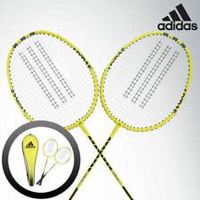 adidas Badminton Racket SPIELER E06 Light Blue Black Racquet String with Cover