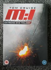 Mission Impossible Extreme DVD Trilogy New & Sealed M:I Tom Cruise 1 2 & 3