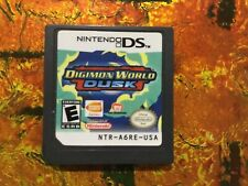 Digimon World Dusk Nintendo DS Authentic Cleaned Tested