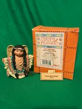 Enesco friends of a feather Great Spirit Guide188182 Girl Angel with Box